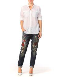 Denim & Supply Ralph Lauren Shirt / Blouse - W040352Dccfwta1Wht - Lyst