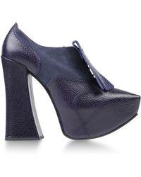 Vivienne Westwood Purple Laced Shoes - Lyst