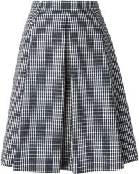 O'2nd Pleated A-Line Skirt - Lyst