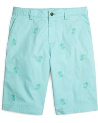 Brooks Brothers Palm Tree Printed Shorts - Lyst