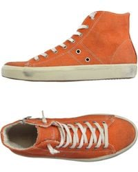 Leather Crown | High-tops & Trainers | Lyst