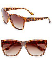 Moschino - Square Wayfarer Sunglasses - Lyst