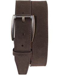 Will Leather Goods - 'marlow' Suede Belt - Lyst
