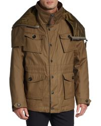 Burberry Prorsum Fourpocket Field Jacket - Lyst