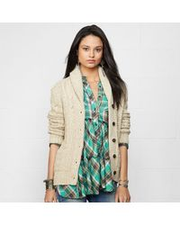 Denim & Supply Ralph Lauren Classic Long Sleeved Cardigan - Lyst
