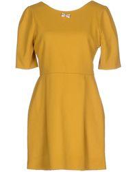 Maison Kitsuné | Short Dress | Lyst