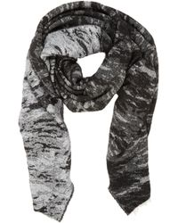 Rag & Bone Abstract Jacquard Scarf - Lyst