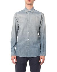 Marc Jacobs Blue Fadeddenim Shirt - Lyst