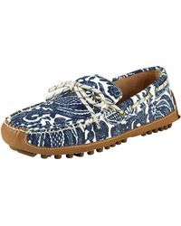 Cole Haan - Grant Printed Canvas Driver - Lyst