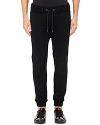 Ralph Lauren Black Label - French Terry Moto Jogger Pants - Lyst