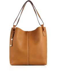 Michael Kors Rogers Large Hobo Bag brown - Lyst