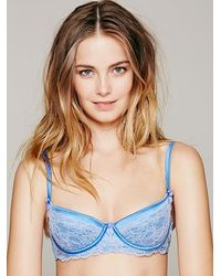 Free People Blue Paradise Underwire - Lyst