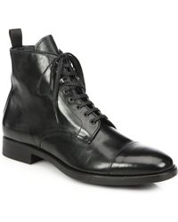To Boot Stallworth Leather Cap-Toe Boots - Lyst