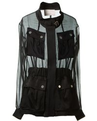 Jason Wu Sheer Pocketed Jacket - Lyst