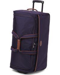 Longchamp Le Pliage Large Wheeled Duffel Bag - Lyst