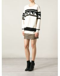 Isabel Marant Wool and Alpaca Knit Sweater - Lyst