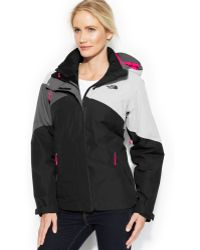 The North Face Hooded Cinnabar Triclimate Waterproof Zip-up Jacket - Lyst