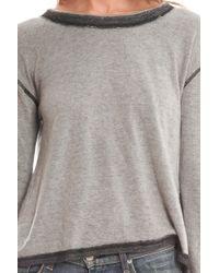 V :: Room - Vintage Mini Crewneck Fleece - Lyst