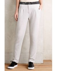 Anthropologie French Terry Trousers - Lyst