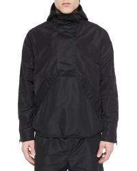 T By Alexander Wang - Nylon Hooded Pullover - Lyst