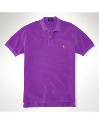 Polo Ralph Lauren Customfit Polo Shirt - Lyst