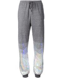 Ashish Gradient Sequin Track Pants - Lyst