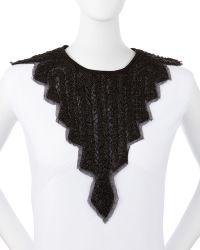 Haute Hippie - Embellished Silk Chessoire Neckpiece - Lyst