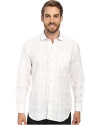 Tommy Bahama Squarely There L/S Button Up - Lyst