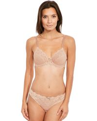Chantelle - Rive Gauche 3 Section Full Cup Bra - Lyst