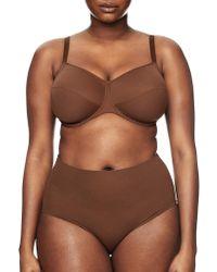Nubian Skin - Fuller Bust Naked Bra - Lyst