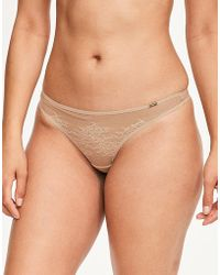 Gossard - Glossies Lace Thong - Lyst