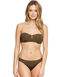 Huit - Full In Love Padded Strapless Bikini Top - Lyst