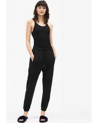 Filippa K - Shiny Track Pants Black - Lyst
