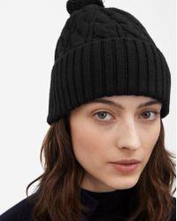 Filippa K - Braided Hat Black - Lyst