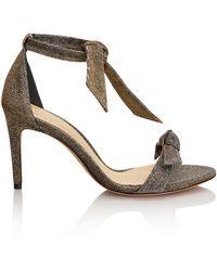 Alexandre Birman - Clarita Bronze Sandal - Lyst