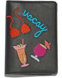 Lizzie Fortunato - Vacay Leather Passport Case - Lyst