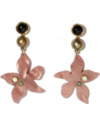 Lizzie Fortunato - Portugal Poppy Earrings - Lyst