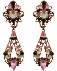 Erickson Beamon - Multi-drop Earrings - Lyst