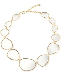 Aurelie Bidermann - Ciottolo Mirror Necklace - Lyst