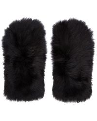 Marc Jacobs - Shearling Fur Gloves By - Lyst