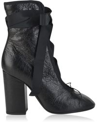 Valentino - Ankle Wrap Booties - Lyst
