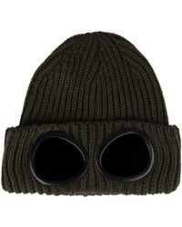 C P Company - Goggle Knit Hat - Lyst