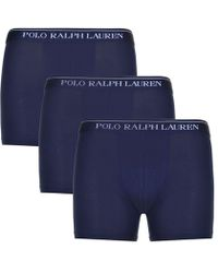 Polo Ralph Lauren - Three Pack Of Boxer Shorts - Lyst