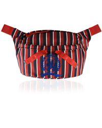Tommy Hilfiger - Stripe Crest Oversized Bum Bag - Lyst