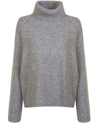 BOSS by Hugo Boss - Ikallah Knit Turtle Neck Jumper - Lyst