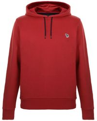 PS by Paul Smith - Hooded Logo Sweatshirt - Lyst
