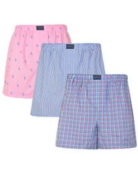 Polo Ralph Lauren - 3 Pack Of Classic Boxers - Lyst