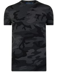 Polo Ralph Lauren - Camouflage Short Sleeved T Shirt - Lyst