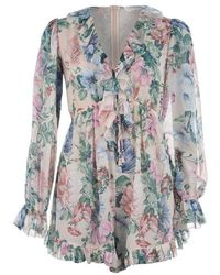 utterly stylish popular brand provide large selection of Verity Floating Playsuit - Multicolor