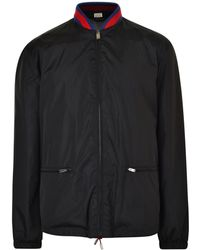 Gucci - Snake Web Shell Jacket - Lyst